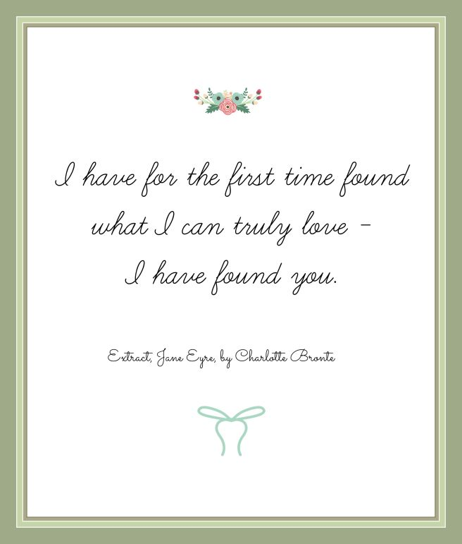 Wedding quotes Emily Bronte